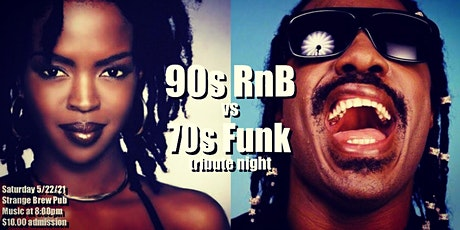 90s RnB vs 70s Funk tribute night tickets