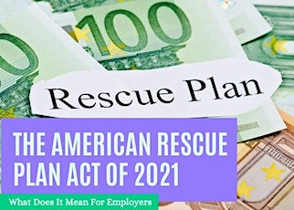 The American Rescue Plan Act of 2021 tickets