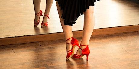 Live Virtual Wellness: 4-Week Beginner Salsa Workshop with Nadine tickets