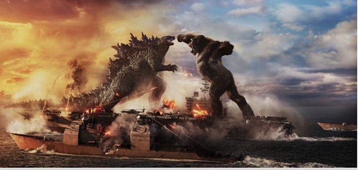 Godzilla vs Kong (2021) 8:20 Fri & Sat  May 14th-15th @PridesCornerDriveIn image