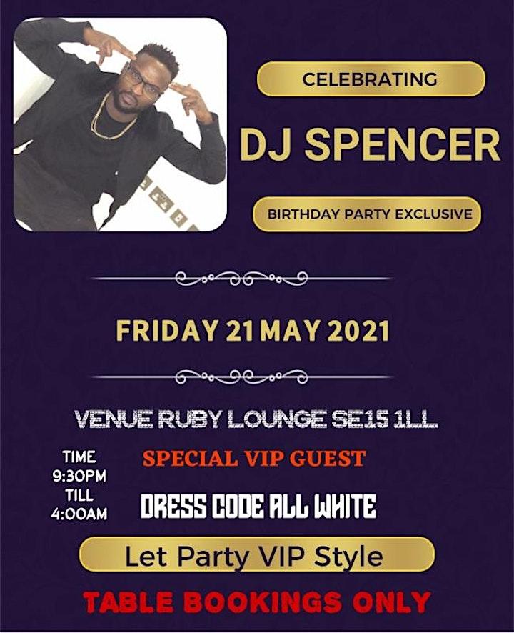 DJ SPENCER ALLWHITE BIRTHDAY PARTY image