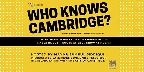 Who Knows Cambridge? tickets