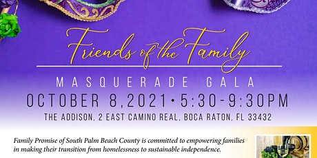 Friends of the Family Masquerade Gala tickets