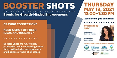 Booster Shots - Networking Event for Entrepreneurs tickets