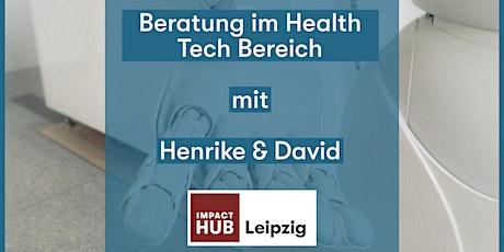 Beratung im Health Tech Bereich Tickets