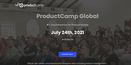 Virtual ProductCamp Europe tickets