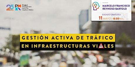 """""""Gestión activa de tráfico en infraestructuras viales"""" entradas"""
