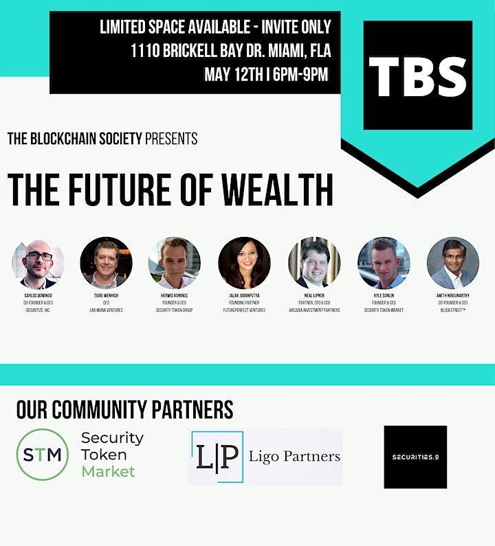 The Blockchain Society MIAMI: The Future of Wealth image