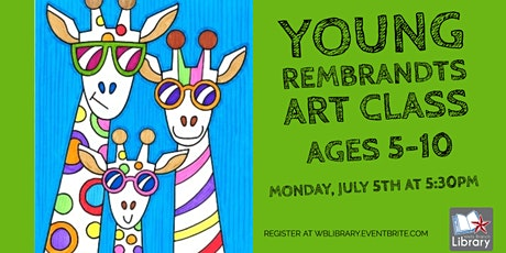 *Indoor Event* Young Rembrandts Art Class (ages 5-10) tickets