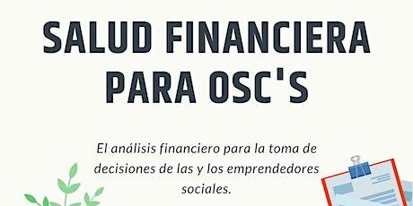 Diagnóstico de Salud Financiera en las OSC entradas