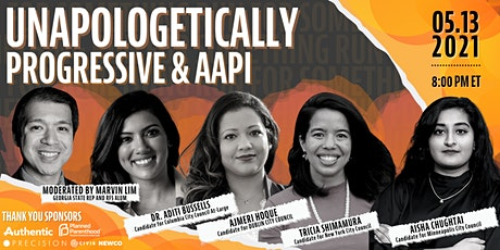 Unapologetically Progressive & AAPI tickets