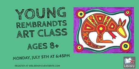 *Indoor Event* Young Rembrandts Art Class (ages 8+) tickets