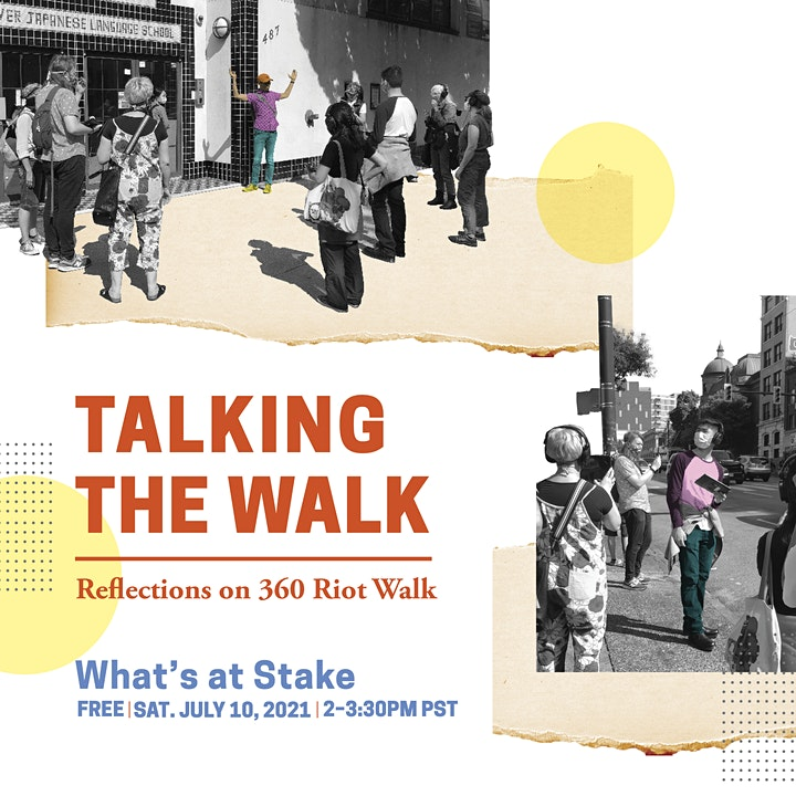 Talking the Walk: What's At Stake image