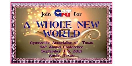 Gymnastics Association of Texas VENDOR BOOTHS 2021 tickets