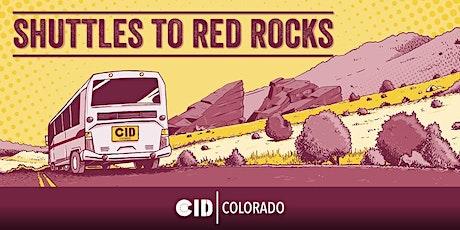 Shuttles to Red Rocks - 10/17 - Black Tiger Sex Machine tickets