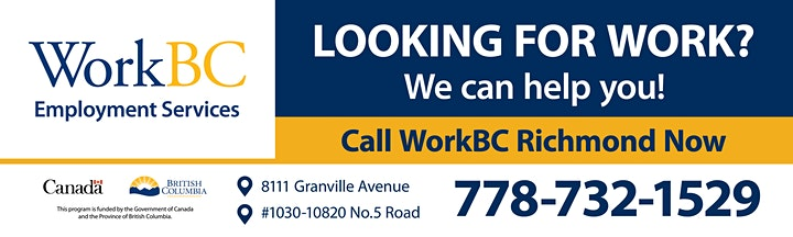 Jun 30_Get hired with Government Incentive_WorkBC Richmond image