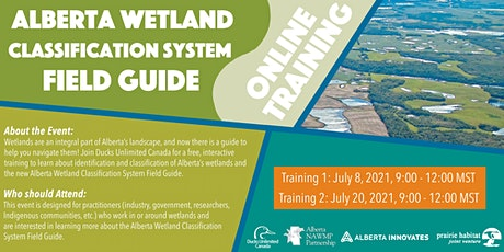 Alberta Wetland Classification System Field Guide Online Training tickets