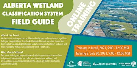 Alberta Wetland Classification System Field Guide Online Training billets