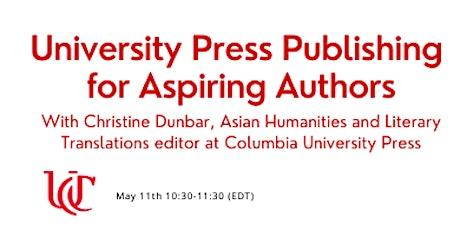University Press Publishing for Aspiring Authors tickets