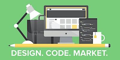 Design, code, market