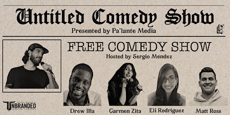 Untitled Comedy Show tickets