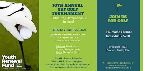 YRF 2021 Annual Golf Tournament tickets