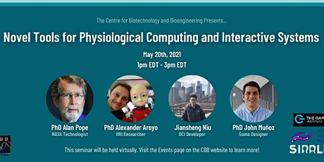 Physiological Computing Tools Webinar tickets