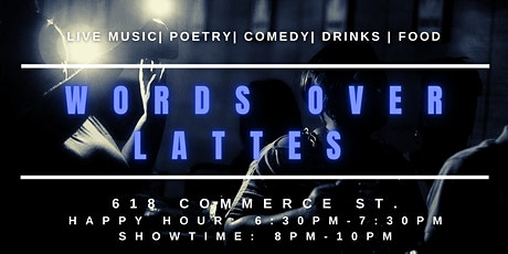 Words Over Lattes tickets