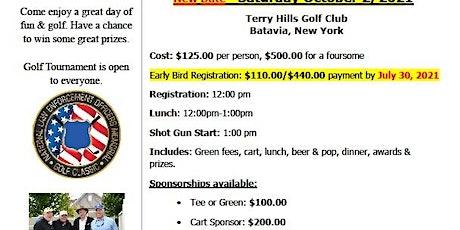 2021 NLEOM & NYSDA Golf Clasic tickets