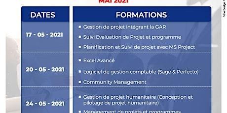 Calendrier des Formations du Mois de Mai 2021 billets