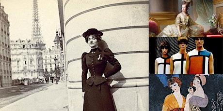 'Paris Fashion: The History of Haute Couture' Webinar bilhetes