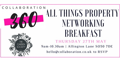 Collaboration360 All Things Property Networking Breakfast tickets
