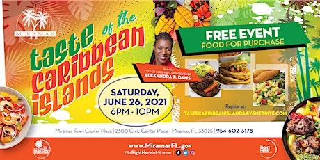 Taste of the Caribbean Islands tickets
