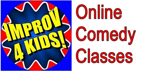 Comedy 4 Kids 8-12 Online Classes tickets