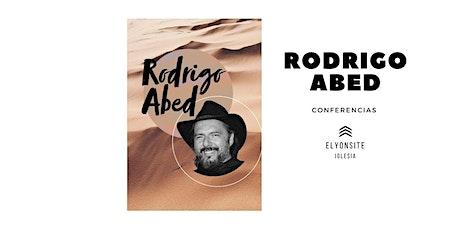 Conferencias Rodrigo Abed entradas