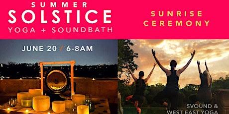 Summer Solstice Sunrise Ceremony: Yoga + Soundbath in Forest Park tickets