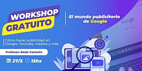 El mundo publicitario de Google. entradas
