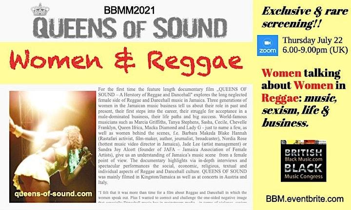 BBMM2021 Queens Of Sound: Women & Reggae image