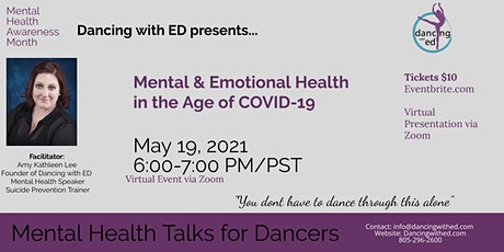 Mental and Emotional Health in the Age of COVID-19 tickets
