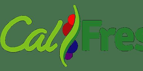 ¡Estire su presupuesto de alimentos con CalFresh! entradas