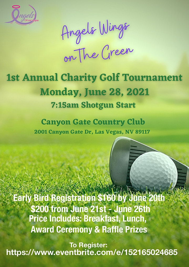 Angels Wings on The Green 1st Annual Charity Golf Tournament image