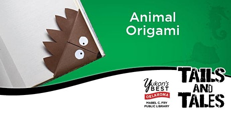 Animal Origami (Young Adult) tickets
