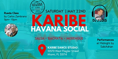 Karibe Havana Nights Social + Rueda Class tickets