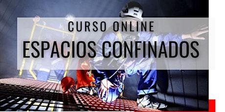 """Curso Gratuito """"Espacios Confinados"""" Perú entradas"""