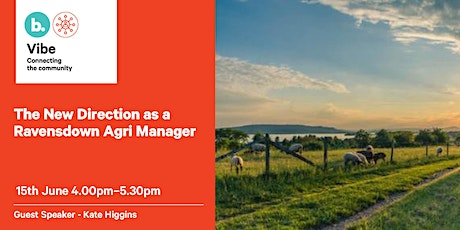The new direction as a Ravensdown agri manager. tickets