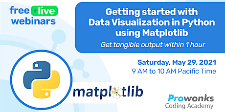Getting Started with Data Visualization in Python using Matplotlib tickets