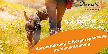 2-teiliger Workshop Körperführung & Körperspannung im Hundetraining tickets