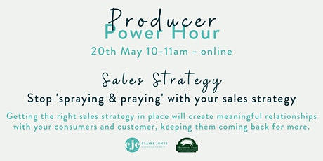 Hampshire Fare Producer Power Hour May Sales Strategy tickets