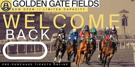 Live Racing at Golden Gate Fields - 5/20 tickets