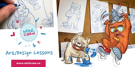Character Design with Minicrew (All Ages) tickets